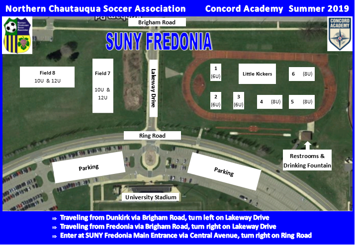 Summer 2019 Concord Academy Field Layout